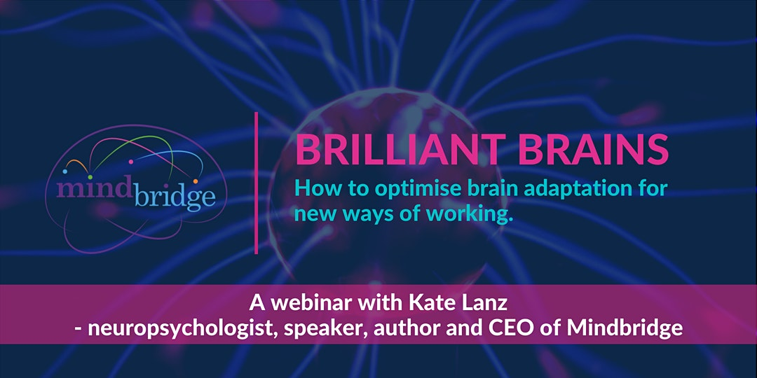Brilliant brains webinar with Kate Lanz