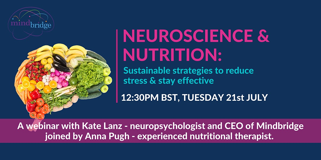 Neuroscience and nutrition a webinar with Kate Lanz